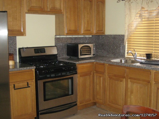 Luxury vacation rentals at Briarwood: Kitchen