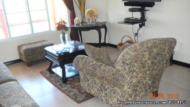 Living Room - Luxury vacation rentals at Briarwood