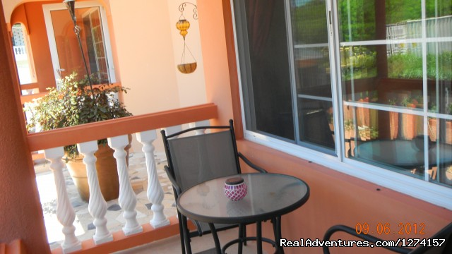 Patio (#7 of 10) - Luxury vacation rentals at Briarwood