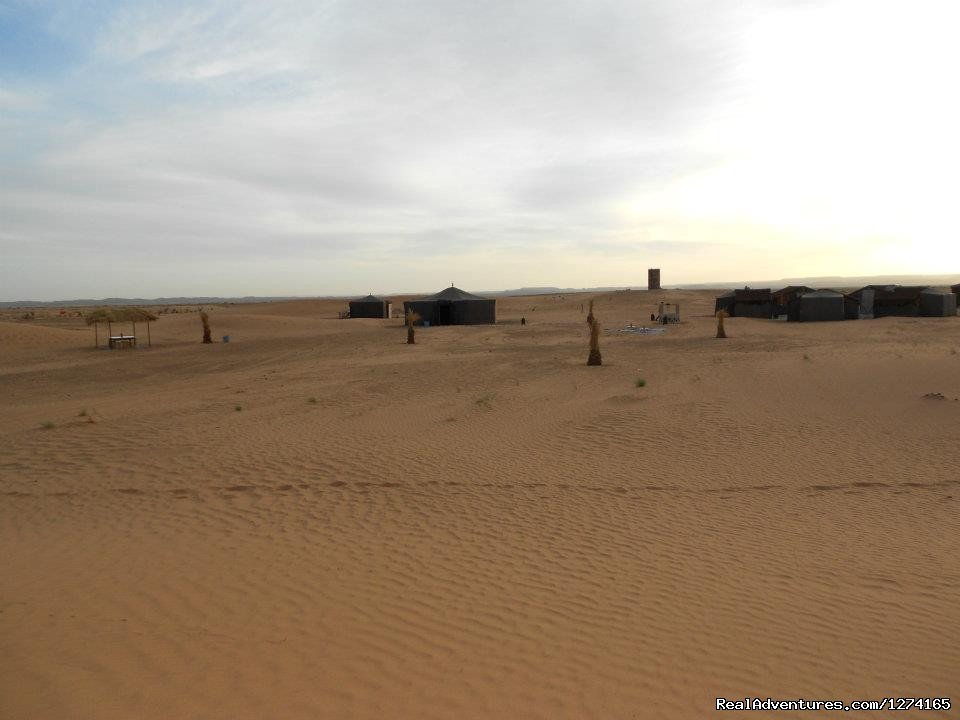 Nomad tents in desert | Image #4/7 | Morocco Dunes Tours