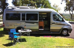 Airstream Interstate Touring Coach Rental RV Acampo, California RV Rentals