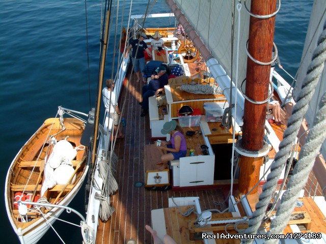 On Deck - Maine Windjammer Sailing Adventures