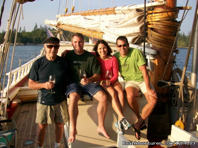 Guests (#8 of 12) - Maine Windjammer Sailing Adventures