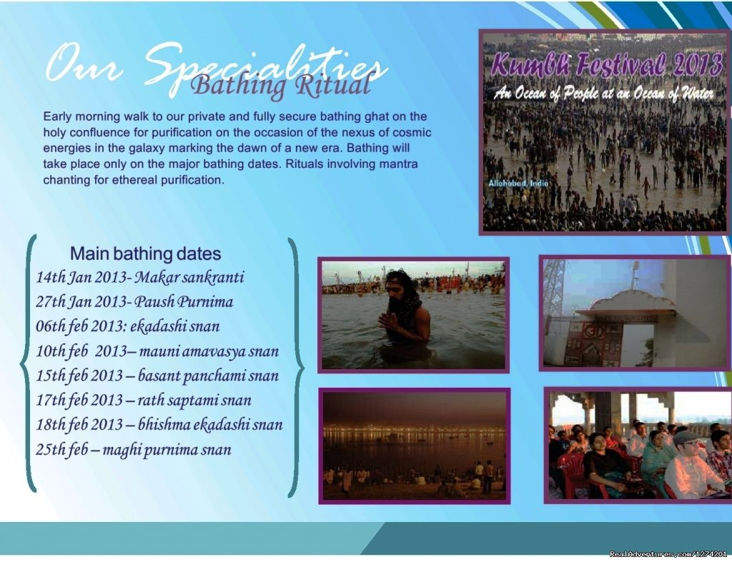 Image #3/13 | Sukrit Wellness Tours presents a special Kumbh