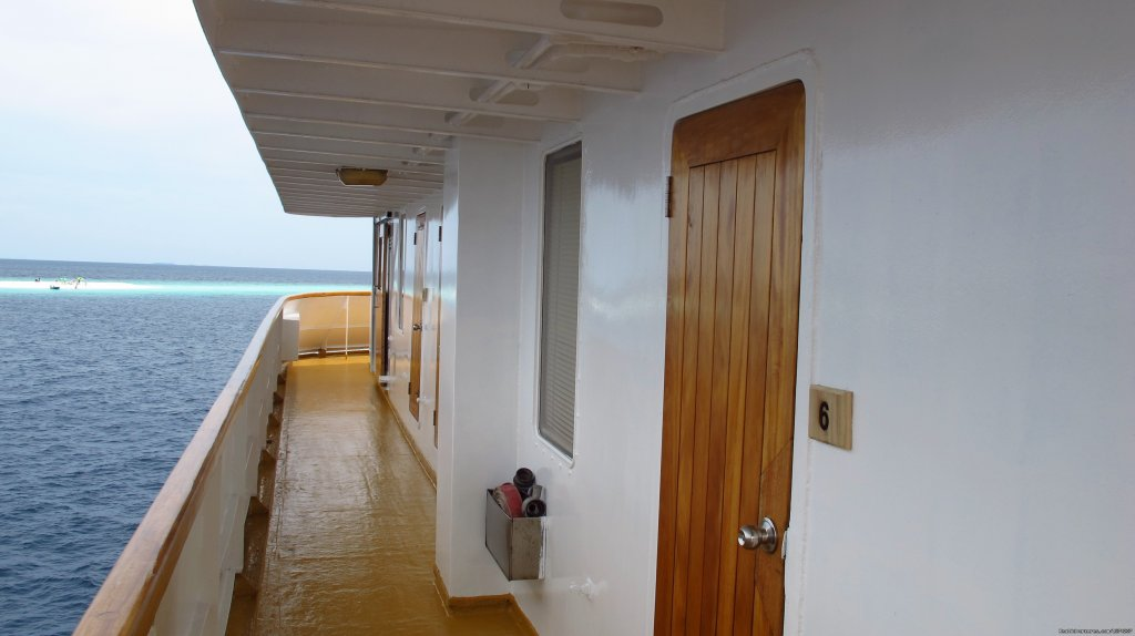 Brdige Deck | Image #6/14 | Explore the Maldives on MV Yasawa Princess
