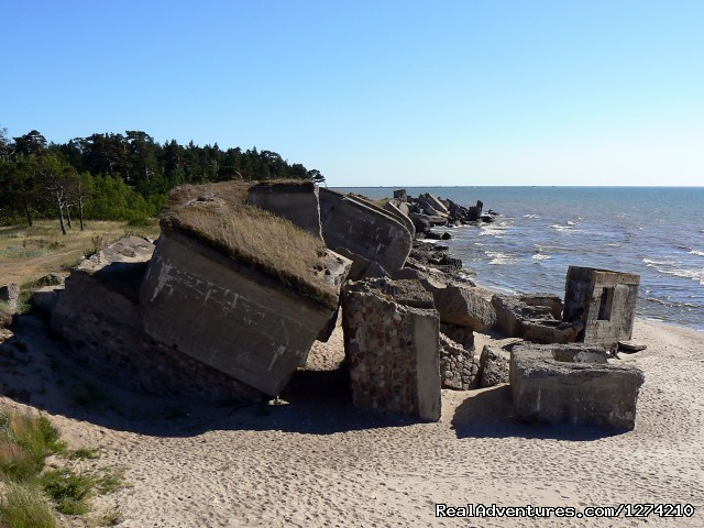 Soviet union military port in Liepaja - Former Soviet union military objects in Latvia