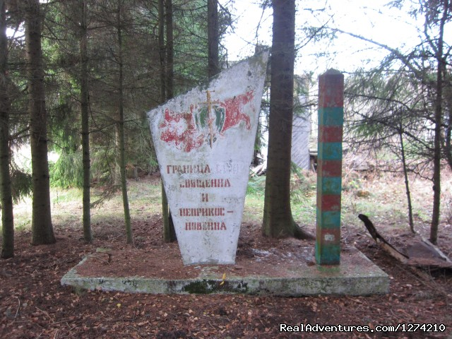 Monument for Stalin - Former Soviet union military objects in Latvia