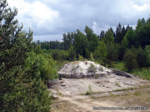 Taujeni - Rocket base on the way to Liepaja - Former Soviet union military objects in Latvia