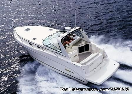 St Lucia Coastal Adventure ( Land & Sea) Rinker 34 FT Cruiser