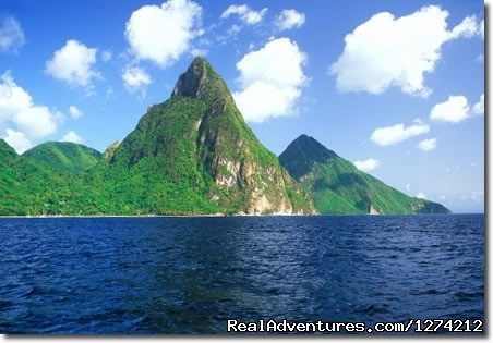 The Pitons (#5 of 10) - St Lucia Coastal Adventure ( Land & Sea)