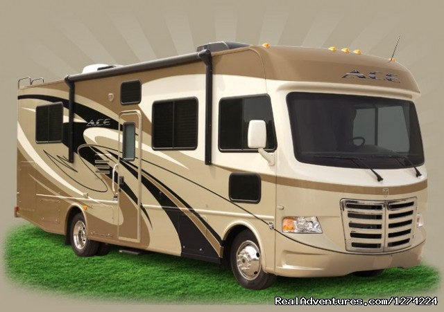 Privately Owned 2013 Thor ACE 30' Class A RV Fremont, California RV Rentals
