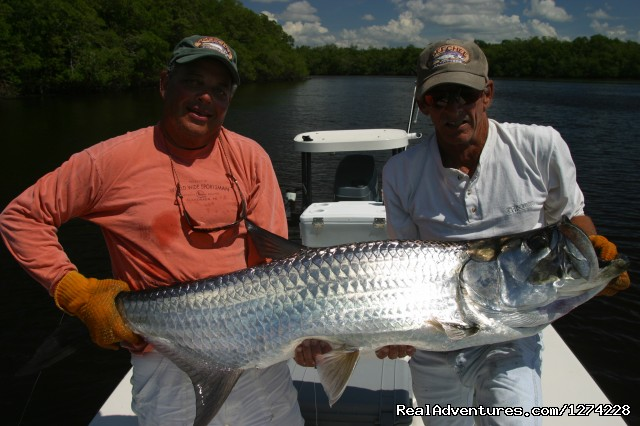 Small River Tarpon - Nature:Boat Assisted,Photo,Sunset,Birding,EcoTours