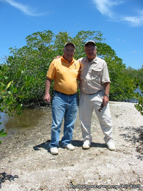 Walking in the mangroves - Nature:Boat,Fishing,Photo,Sunset,Birding,EcoTours