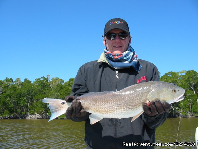 Redfish on Fishing Tour - Nature:Boat Assisted,Photo,Sunset,Birding,EcoTours