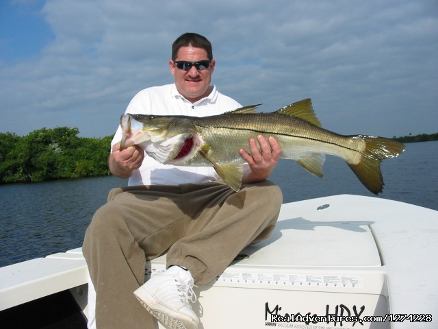 Snook Fishing the Backcountry - Nature:Boat Assisted,Photo,Sunset,Birding,EcoTours