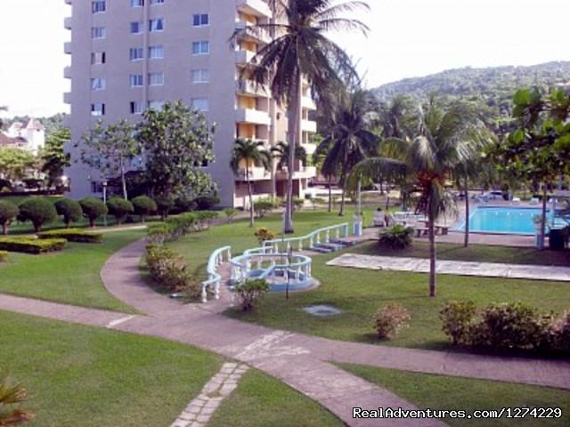 Ocho Rios beachfront resort condo Property View
