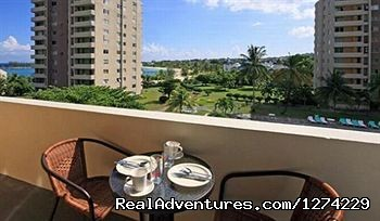 Private Balcony - Ocho Rios beachfront resort condo