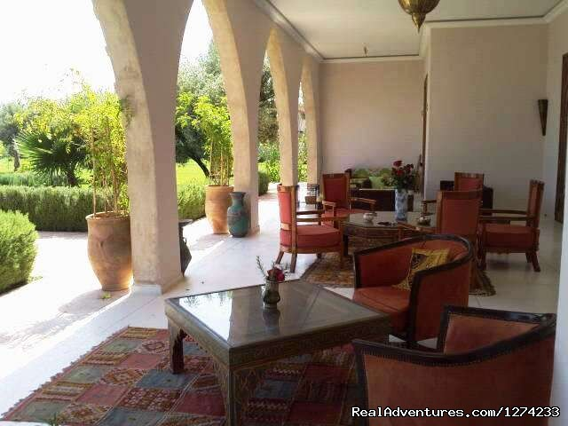 Terrace - 'MARRAKECH AFRICAN QUEEN' Exclusive Villa