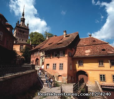 Sighisoara Citadel-Dracula's Birthplace - Awarded Halloween in Transylvania - Short Break