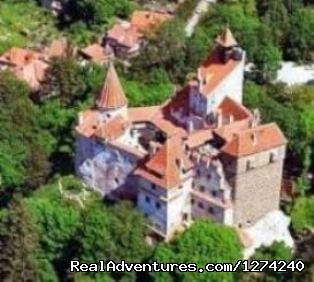 Bran castle from above (#11 of 12) - Awarded Halloween in Transylvania - Short Break