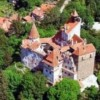 Bran castle from above
