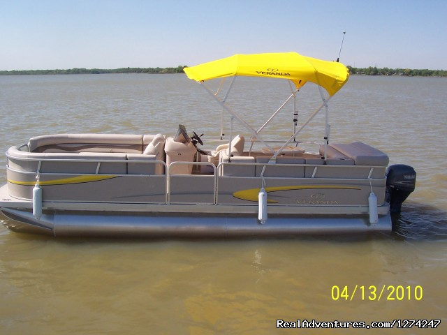 Boat and Jet Ski Rental at Lake Lewisville, TX