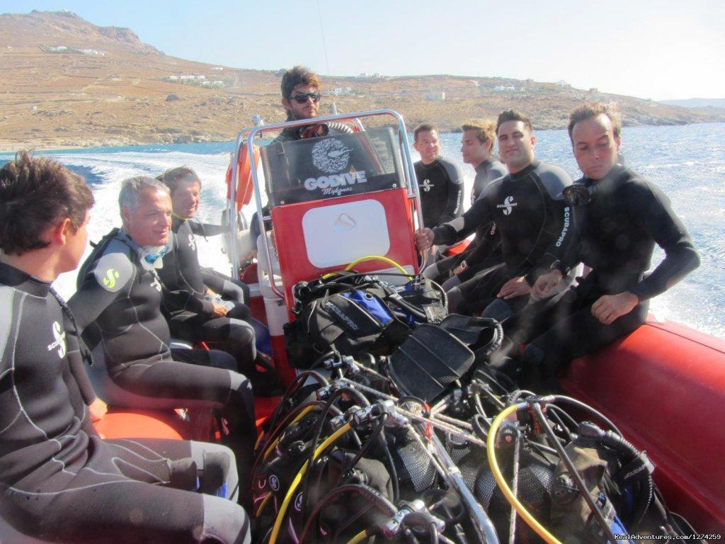 Mykonos Diving by GoDive Mykonos | Image #9/16 | Scuba Diving Mykonos