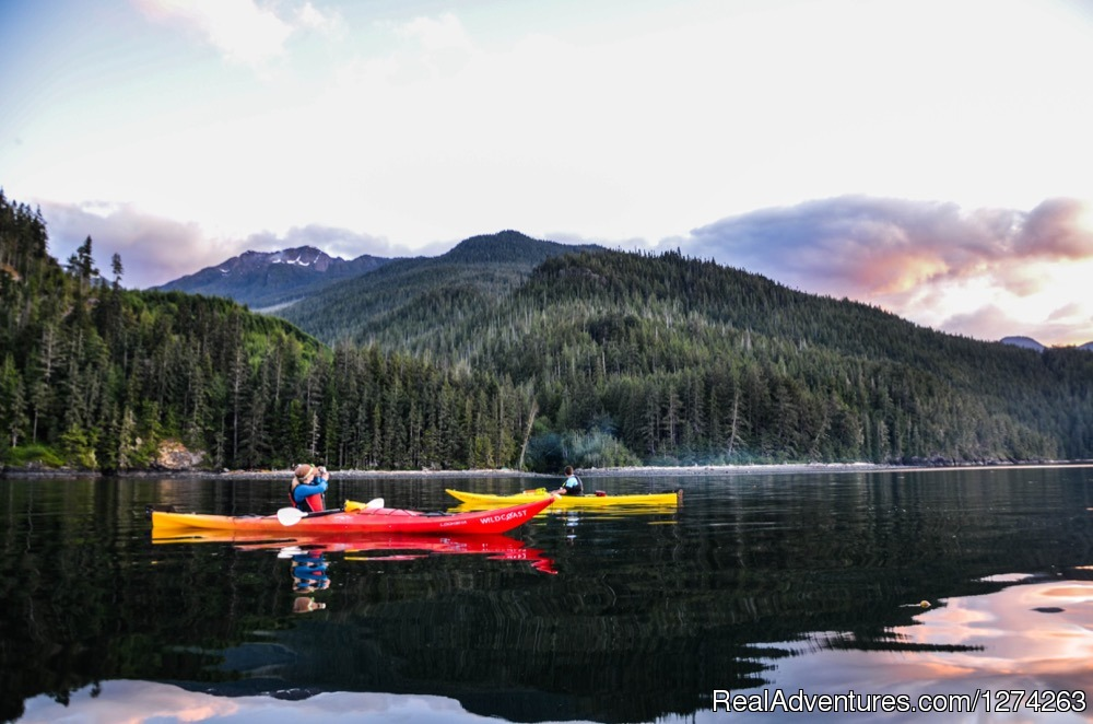 Ocean Kayaking British Columbia Coastline | Image #8/19 | Wildcoast Adventures - kayak vacations & adventure
