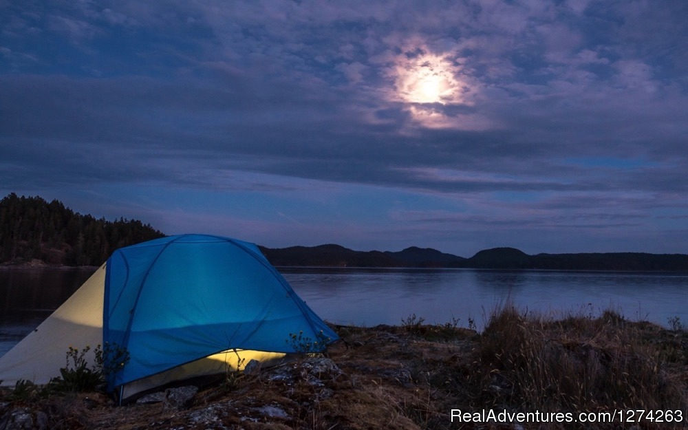 Camping in Discovery Islands, BC | Image #11/19 | Wildcoast Adventures - kayak vacations & adventure