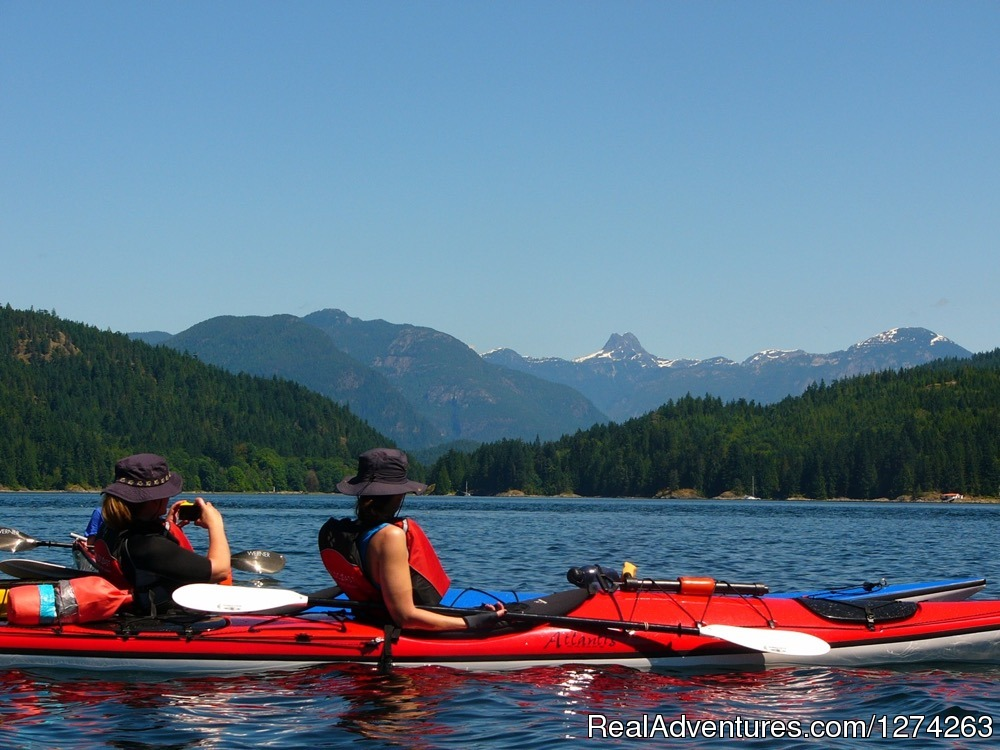 Kayaking in the Discovery Islands, BC | Image #13/19 | Wildcoast Adventures - kayak vacations & adventure