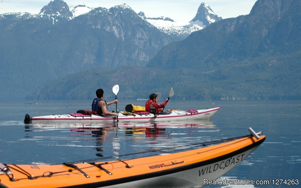 Kayaking in beautiful Desolation Sound British Columbia | Image #19/19 | Wildcoast Adventures - kayak vacations & adventure