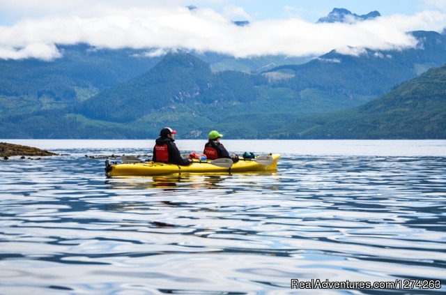 Orca Camp Gourmet Food - Wildcoast Adventures - kayak vacations & adventure