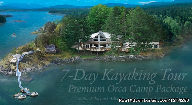 New 7-Day Package w/Gowlland Harbour - Wildcoast Adventures - kayak vacations & adventure