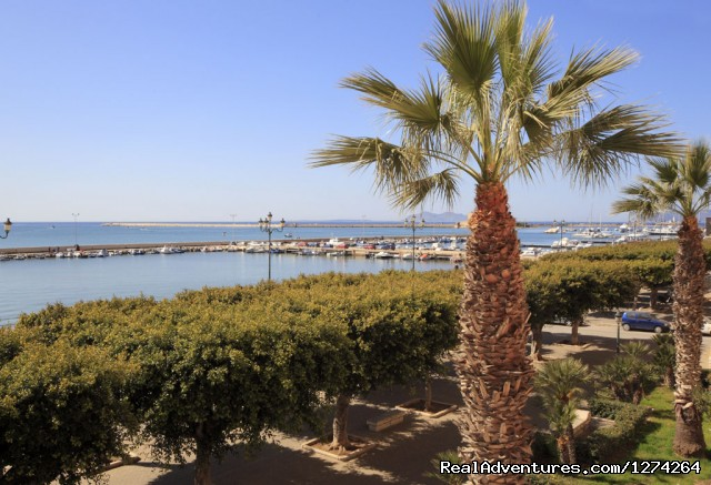 La Serissa Apartment: View  over the port