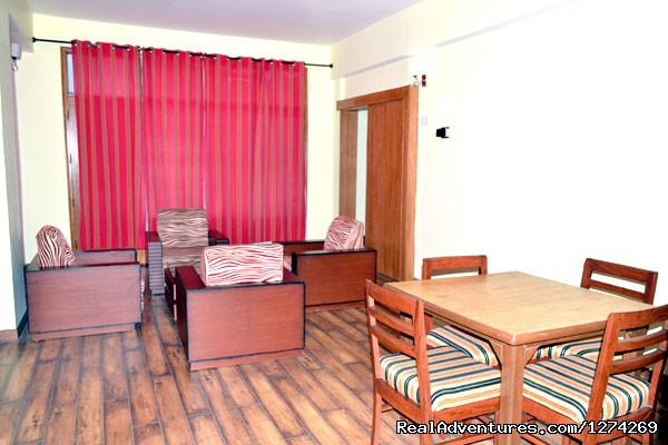 Living Room - United-21 Resort - United-21 Resort, Chail