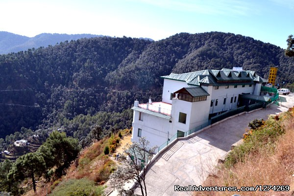 Back View of United-21 Resort in Chail - United-21 Resort, Chail
