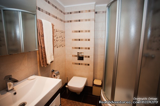 Chernobyl Hotel - guest bathroom - Chernobyl Countryside Hotel