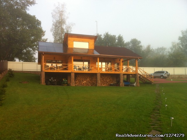 Chernobyl Hotel - view from the river - Chernobyl Countryside Hotel