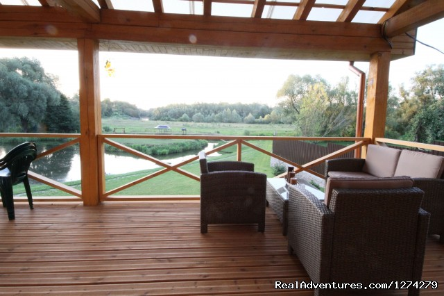 Chernobyl Hotel - view on the pond - Chernobyl Countryside Hotel
