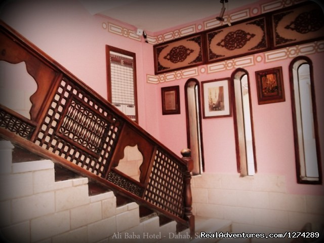 Lobby Reception - Ali Baba Hotel Dahab