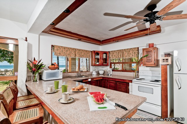 Kitchen - Spectacular Oceanfront Multi-Level 5 Bed Villa