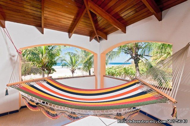 Upper Veranda View - Spectacular Oceanfront Multi-Level 5 Bed Villa