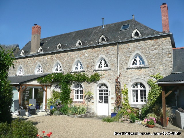 B&B Golf Breaks in the Loire Valley, France Rear view of our lovely home