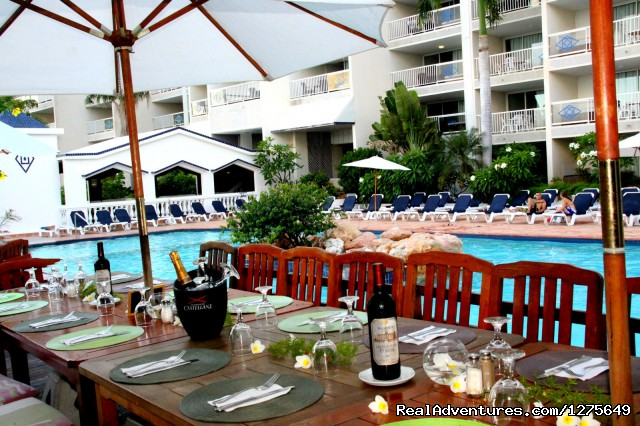 Bar & Restaurant - Sapphire Beach Club Resort, St. Maarten