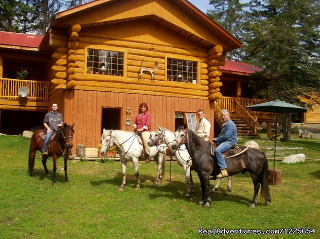 - HorsebackRiding in the Nature and more ...
