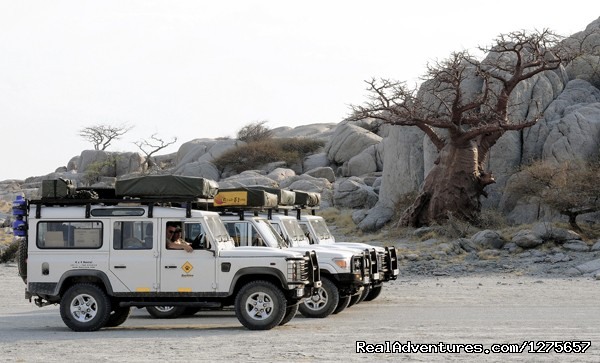 Kubu Island - 4x4 Self-Drive Safari Adventures in Africa