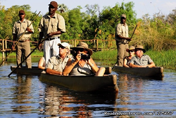Mokoro Trip in Delta Channels - 4x4 Self-Drive Safari Adventures in Africa