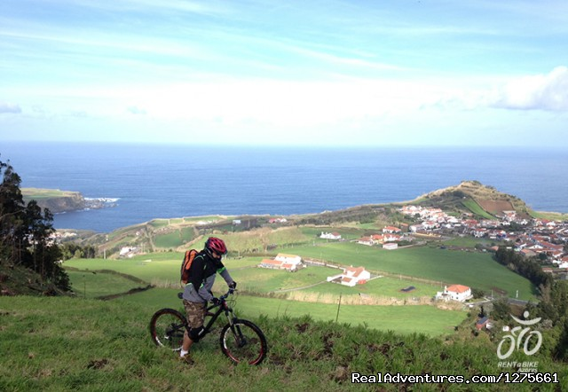 bike rental in Azores islands: Safari Bike Tour