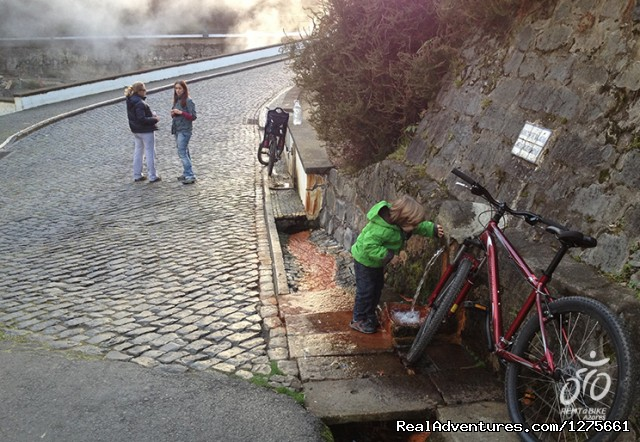 Cycling in Furnas - Azores - bike rental in Azores islands