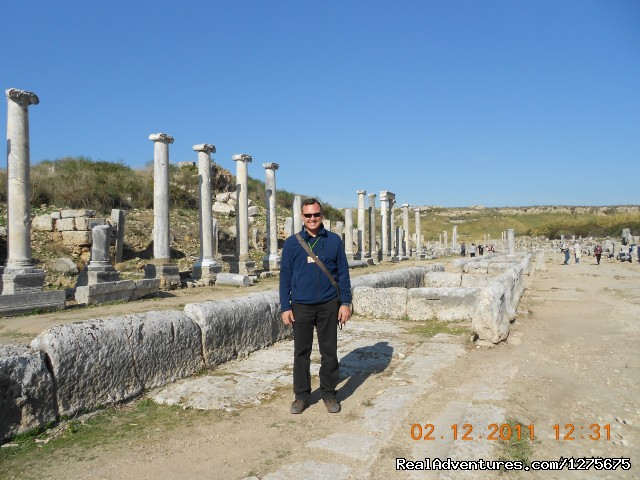 Perge Ancient city - Private Turkey Tour